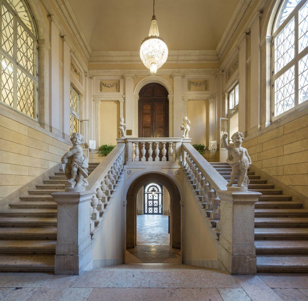 Staircase of Palazzo Giuliari