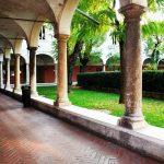 The cloister of San Francesco seat