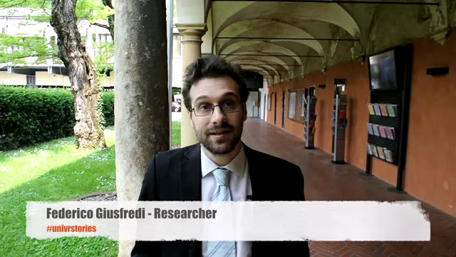 Federico Giusfredi, former Marie Curie fellow and now ERC grantee at the University of Verona