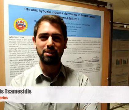 Ioannis Tsamesidis, PhD student at the Unviersity of Verona
