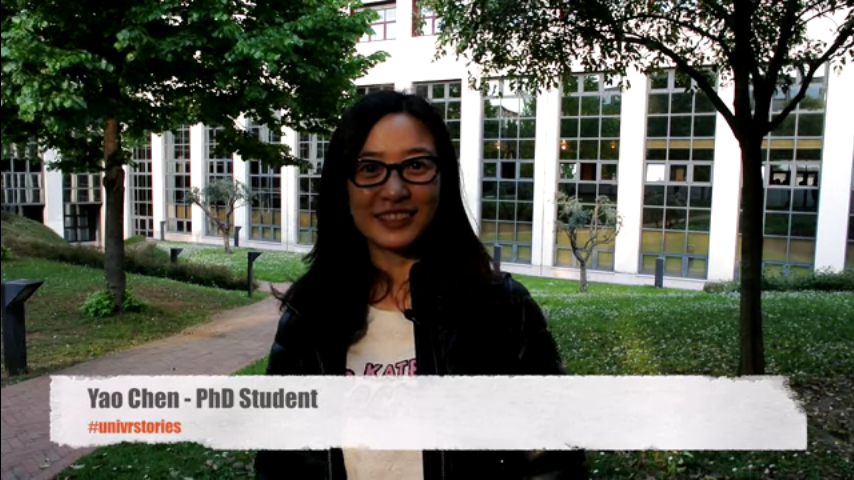Yao Chen, PhD student in Clinical and Experimental Biomedical Sciences
