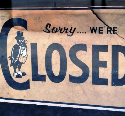 """Closed"" by Mike McBride/Flickr"