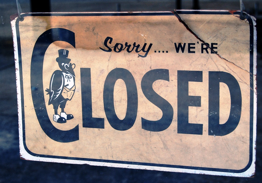 """""""Closed"""" by Mike McBride/Flickr"""