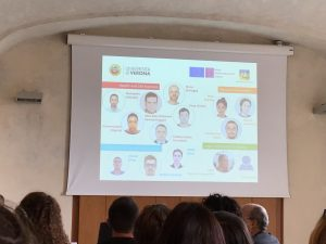 A slide about the INVITE PhD students (Verona, 16/11/2018)