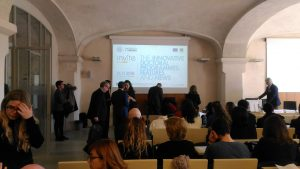 Waiting for the INVITE conference to begin (Verona, 16/11/2018)