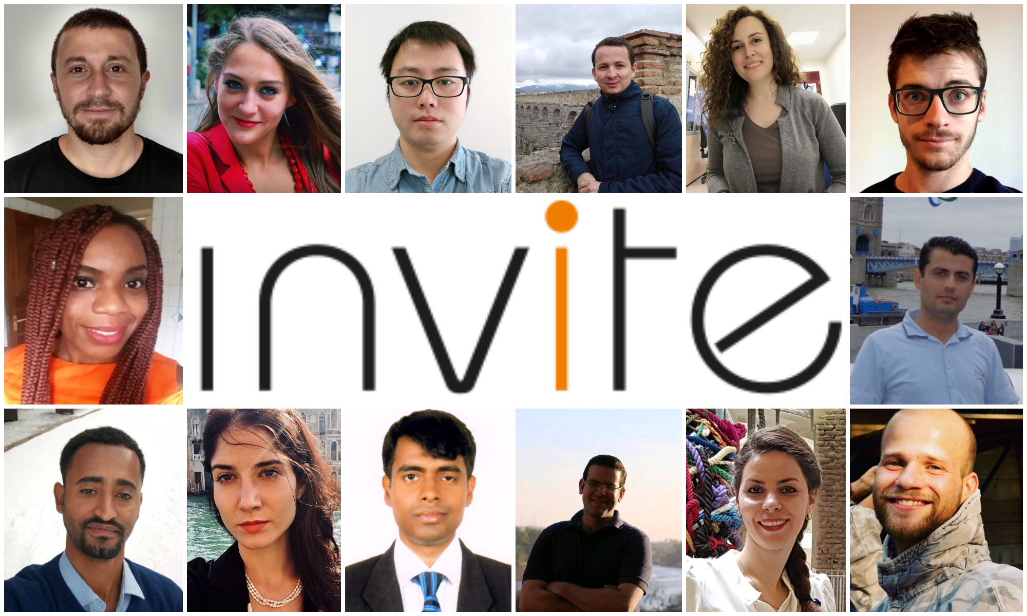 Meet the INVITE PhD students!