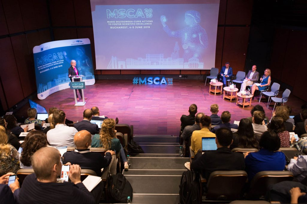 Another picture of the discussion at the MSCA Presidency Conference 2019