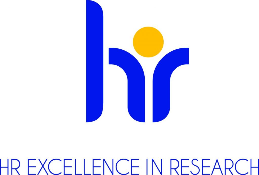 The logo of the HR Excellence in Research Award