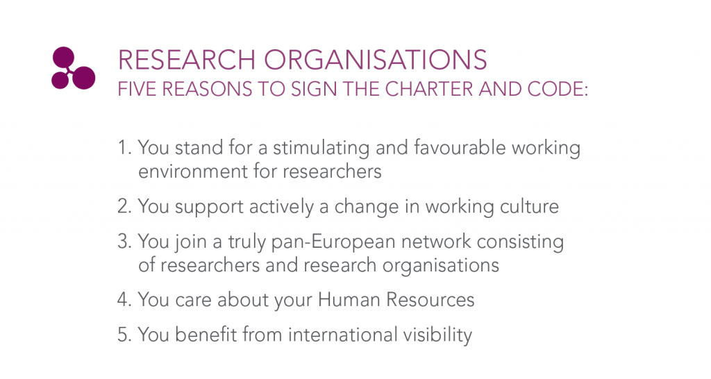 Five reasons for research organisations to care about HRS4R