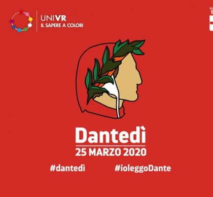 On 25 March 2020 the first Dantedì (Dante day) takes place in Italy
