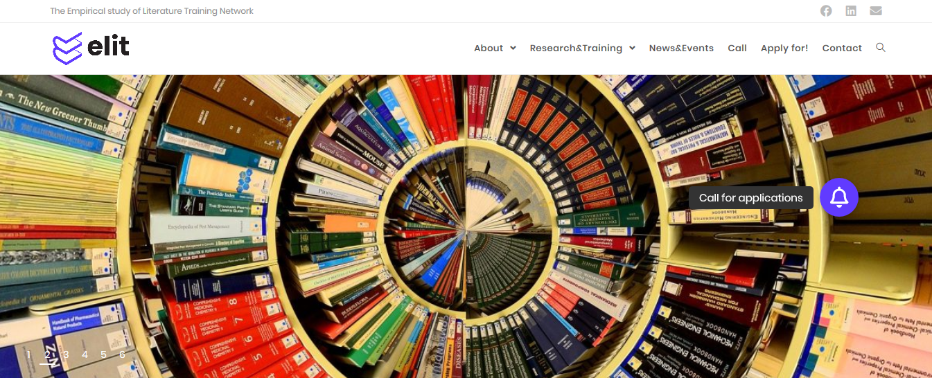 10 PhD positions on empirical study of literature with ELIT
