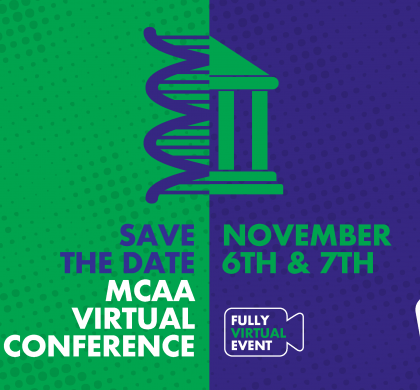 MCAA Virtual conference will take place on 6 and 7 November 2020