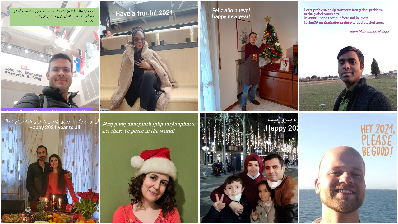Happy New Year from our INVITE fellows
